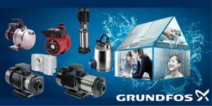 máy bơm nước Grundfos - máy bơm Đan Mạch