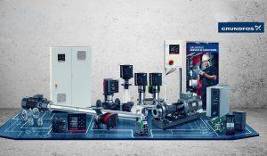 Máy bơm nước công nghiệp Grundfos - tiết kiệm điên cho động cơ máy bơm