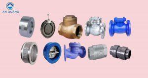 Các loại van 1 chiều máy bơm nước